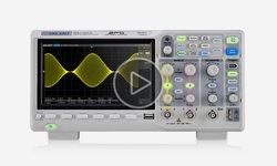 Відеоогляд фосфорного цифрового осцилографа SIGLENT SDS1202X-E