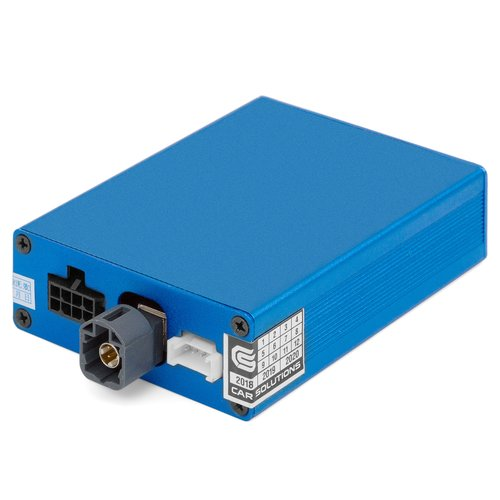 Адаптер подключения камеры заднего и переднего вида для Citroën, Peugeot с системой SMEG