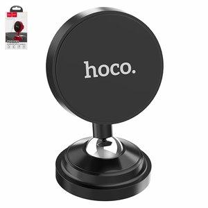 Автомобильный держатель Hoco CA36, черный, магнитный