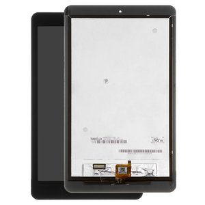 LCD compatible with Acer Iconia One 8 B1-820 , (black, with touchscreen)