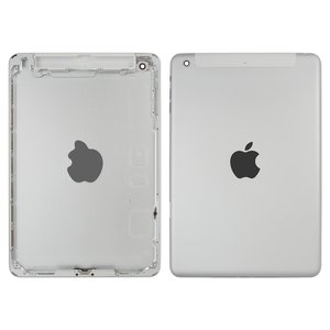 Back Cover for Apple iPad Mini 2 Retina Tablet, (silver, version 3G )