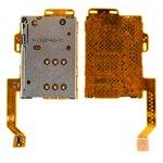 Коннектор SIM-карты Nokia 701, C7-00, со шлейфом