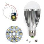 Комплект для сборки лампы SQ-Q03 5730 7 Вт E27 – холодный белый