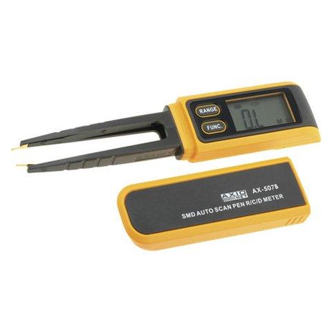 Мультиметр пінцет для діагностики SMD компонентів AXIOMET AX 507B
