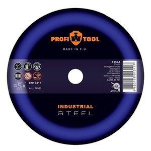 Круг відрізний по металу PROFITOOL INDUSTRIAL 125х3,0х22,2 мм
