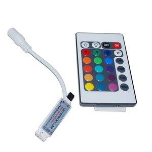 Контролер з ІЧ пультом для світлодіодної RGB стрічки 3528 5050 5630 (12 В, 6 А)