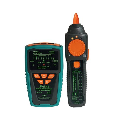 Тестер телекоммуникационных сетей и линий передачи данных Pro'sKit MT-7029