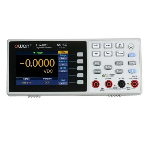 Цифровий настільний мультиметр OWON XDM1041