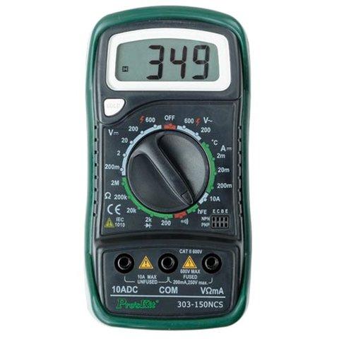 Multímetro Digital Pro'sKit 303 150NCS