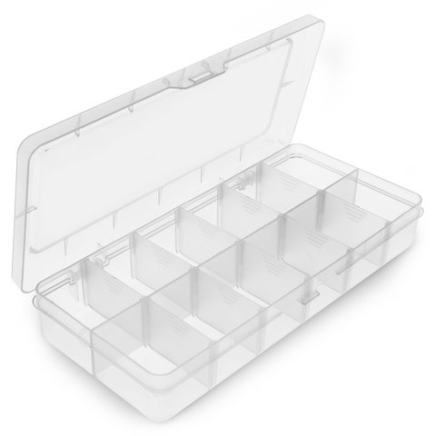 Utility Component Storage Box Pro'sKit 203-132F (260x115x43.5 mm) - Preview 1