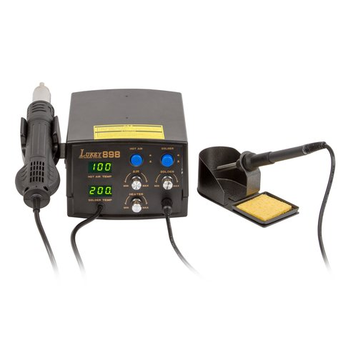 Digital Hot Air Rework Station Lukey 898