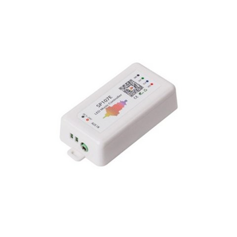 LED Controller with Bluetooth Control SP107E 960 px, RGB, WS2811, WS2812B, WS2813, SK6812 5 24 V